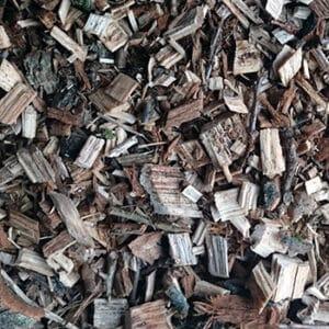 Eiken houtsnippers